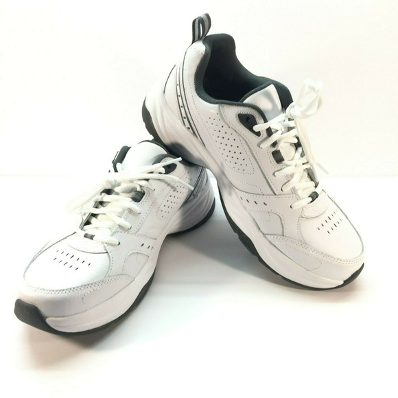 Men/'s Classic White Leather Athletic Shoes Sneakers By Kirkland Signature